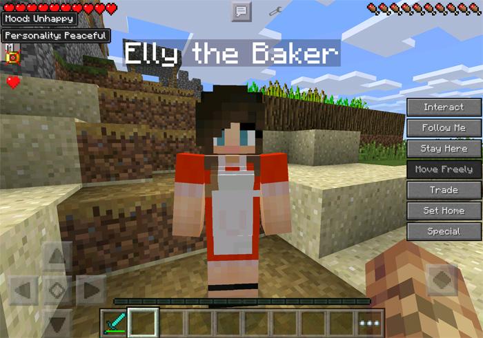 Minecraft comes alive pe mod minecraft pe mods addons minecraft comes alive pe 2 sciox Images