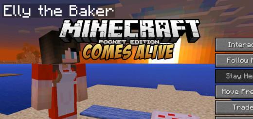 Minecraft Comes Alive PE Mod