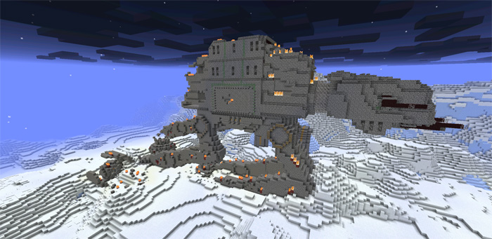 Star Wars Chess Map For Minecraft