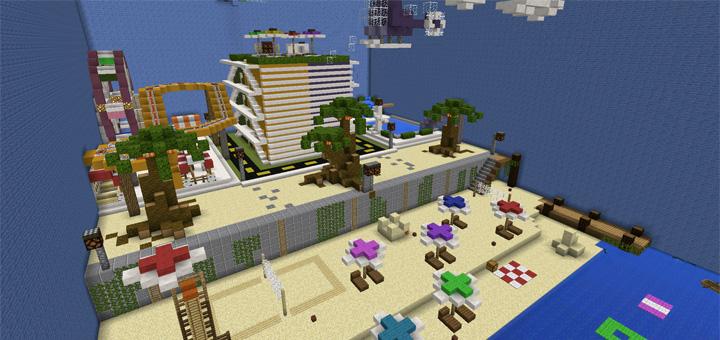 Murder mystery beach resort minigame minecraft pe maps publicscrutiny Gallery