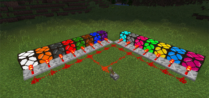 Super colored lightning 2000 mod minecraft pe mods addons aloadofball Images