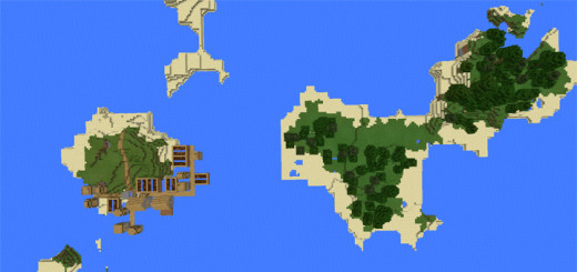 928574289: Islands, Village & Stronghold