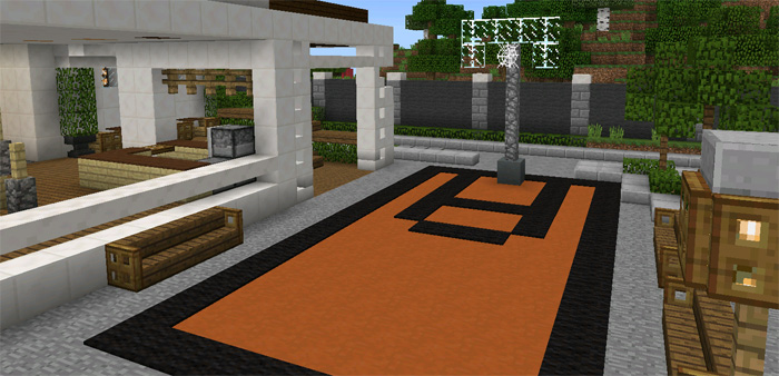 Modern Mansion [Creation] | Minecraft PE Maps