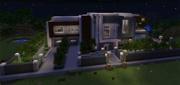 modern mansion 8 modern mansion 7 minecraft modern house best of 2016 - Biggest House In The World 2016