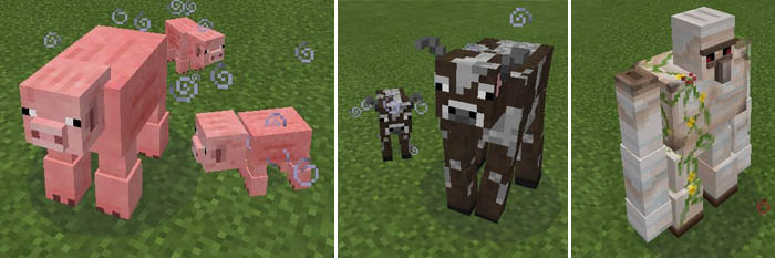 how to make creatures on minecraft