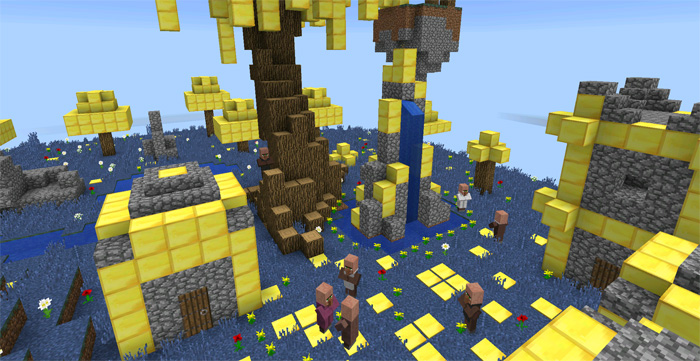 The Aether PE Creation  Minecraft PE Maps