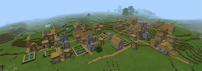 triple-village-at-spawn-2