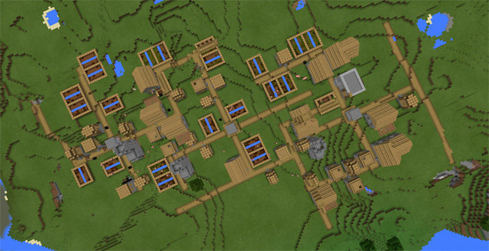 triple-village-at-spawn-3
