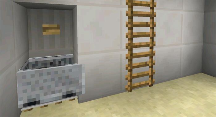 minecraft rails on stairs