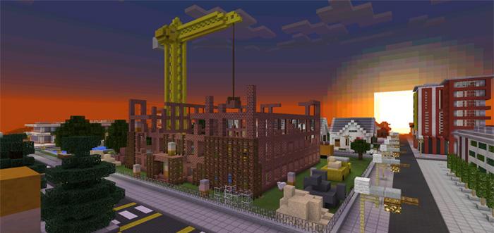 Big Venom City Creation Minecraft Pe Maps
