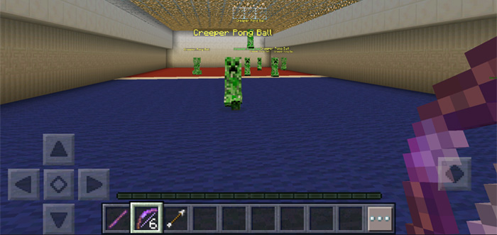 Creeper pong minigame minecraft pe maps creeper pong 4 gumiabroncs Gallery