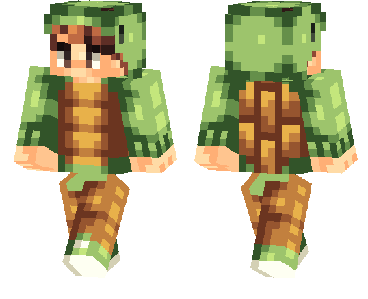 Turtle Boy Minecraft Pe Skins