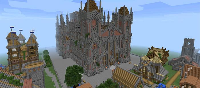 Kingdom of Fairheaven [Creation]   Minecraft PE Maps