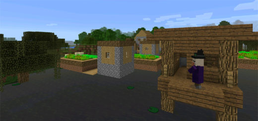-1918652647: Village & Witch Hut At Spawn