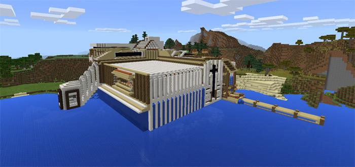 Advanced Redstone Mansion [Redstone] | Minecraft PE Maps