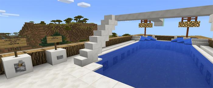 Advanced Redstone Mansion Redstone Minecraft PE Maps - Minecraft hauser installieren