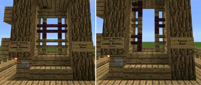 minecraft gate. Fence-gate Minecraft Gate