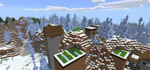 1412966316: Ice Spikes Village