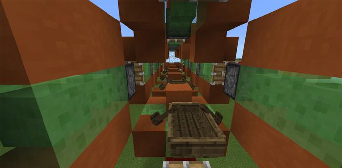 Slimeblock Megaplane [Redstone]   Minecraft PE Maps