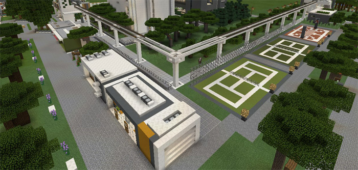 city map for mcpe