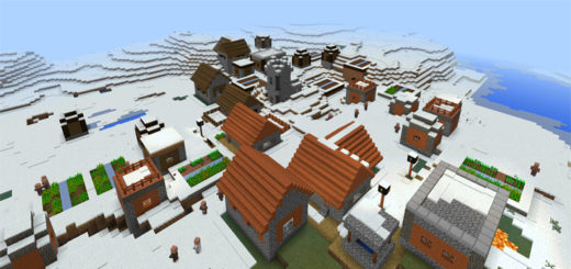 343145341: Savannah Village in a Snow Biome