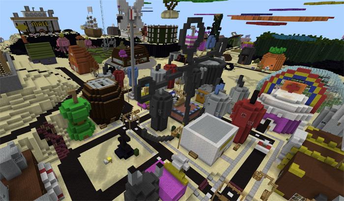 Bikini Bottom (SpongeBob) [Creation] | Minecraft PE Maps