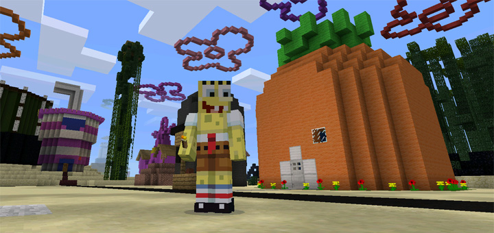 Spongebob minecraft map
