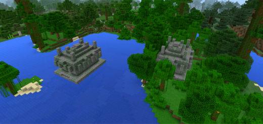 -2109943162: Two Jungle Temples Close to Spawn