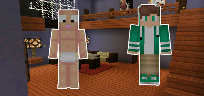 Whos Your Daddy Minigame Minecraft PE Maps - Minecraft quiz spiel