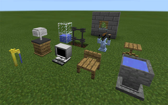 Danxupe Furniture Mod Android Minecraft Pe Mods Addons