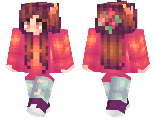 Minecraft pe skins page 3 mcpe dl - Cool girl skins for minecraft pe ...