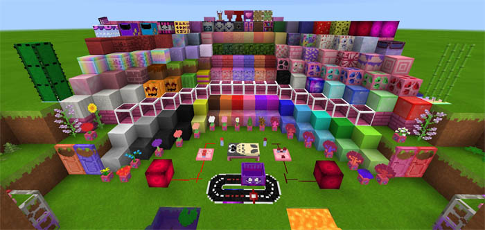 Kawaii World Texture Pack Minecraft PE Texture Packs - Skin para minecraft pe kawaii