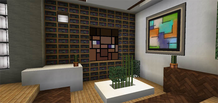 Modern Mountain Home Creation Minecraft Pe Maps