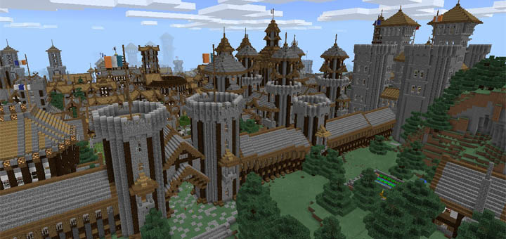 minecraft nether castle map download