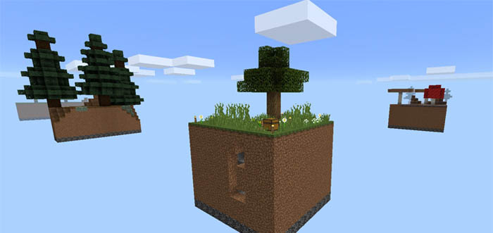 how to set up skyblock