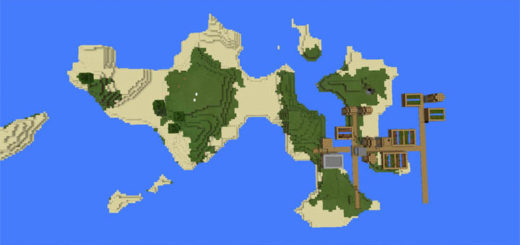 455473902: Village Island & Blacksmith