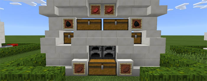 how to make a automatic smelter in minecraft