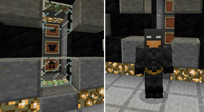 The Batcave [Creation] | Minecraft PE Maps
