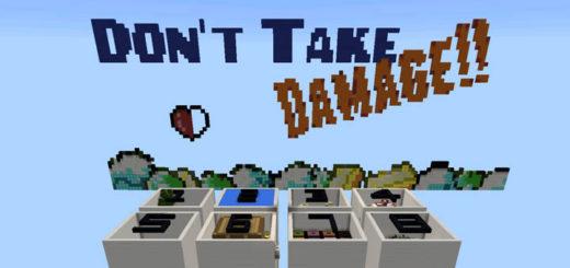 Don't Take Damage (Modded Map!) [Minigame]