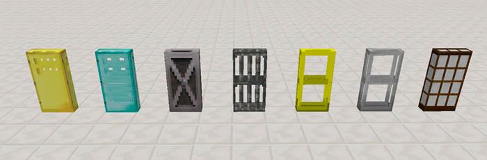 Extra Doors Mod & Extra Doors Mod | Minecraft PE Mods u0026 Addons