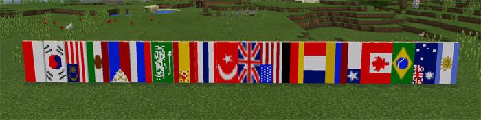 pocket banners mod minecraft pe mods addons