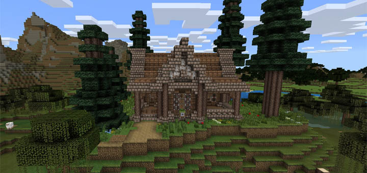 Simple Medieval House Creation Minecraft Pe Maps