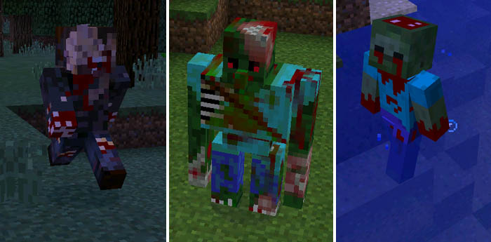 Zombie World Mod | Minecraft PE Mods & Addons