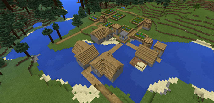 four-villages-near-spawn-1