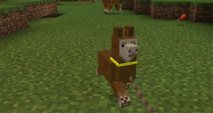 llama mod for mcpe
