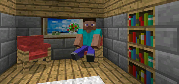 More Chairs Add-on | Minecraft PE Mods & Addons