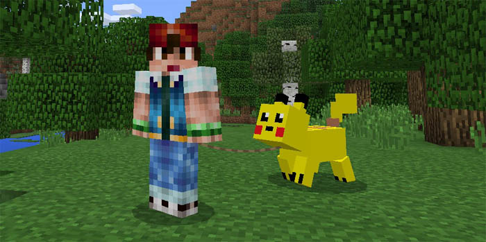 pikachu addon for mcpe