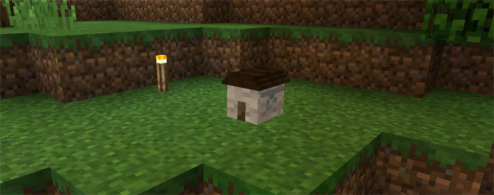 Smallest House Mod for Mcpe