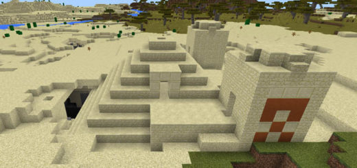-1950666809: Two Desert Temples At Spawn
