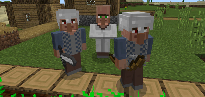 Village Guards Addon | Minecraft PE Mods & Addons